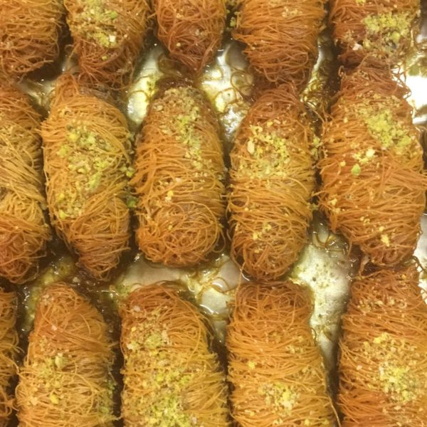 Baklaava pistaatsia pähkel
